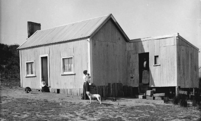 Mangarakau Post Office circa 1905