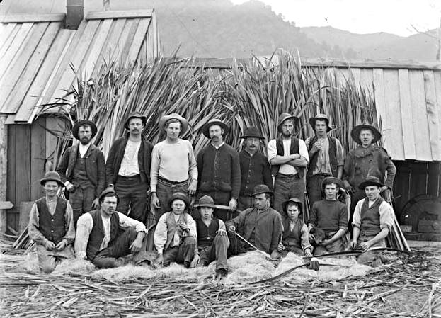 Flax Mill workers